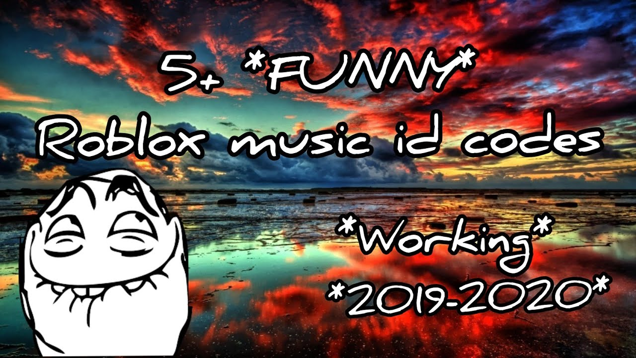 Roblox Funny Songs 5 Funny Roblox Music Id Codes Working 2019 2020 Youtube