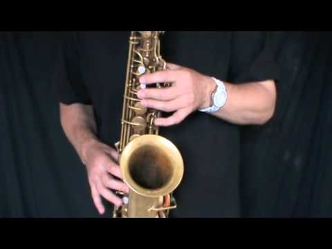 Conn 6m VIII Alto Saxophone  By Greg Kingston