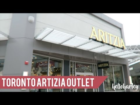 THE FIRST ARITZIA OUTLET! SHOP WITH ME!