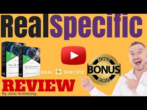 Real Specific Review ⚠️WARNING⚠️ DON'T BUY REAL SPECIFIC WITHOUT MY 👷CUSTOM👷 BONUSES!!