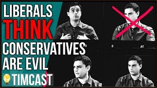 Liberals Think Conservatives Are Evil, Is This Media's Fault?