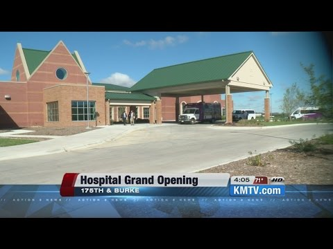 Madonna Hospitals host grand opening, tour of Omaha campus