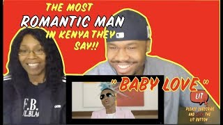 Otile Brown - Baby Love (Official Video) | (THATFIRE LA) Reaction