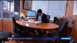 Vanguélis Panayotis - Taxe de séjour sur l'hôtellerie de luxe parisienne - France 3