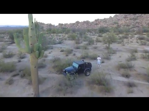 DJI Phantom 3 Raw Footage - Gila River Indian Reservation, Arizona