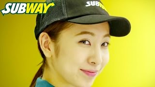 2015年3月 サブウェイCM 「あなたのため」篇 店員役は元AKB48板野友美の...