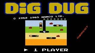 Dig Dug (1982) - Juegos de época 🕹️