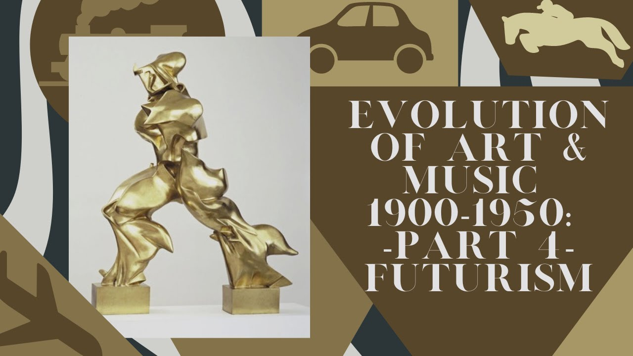 Evolution of Art & Music 1900 - 1950: Part 4: Futurism - YouTube