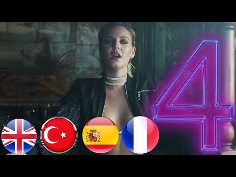 4 Dilde Rockabye Şarkısı // İngilizce // Türkçe // İspanyolca // Fransızca