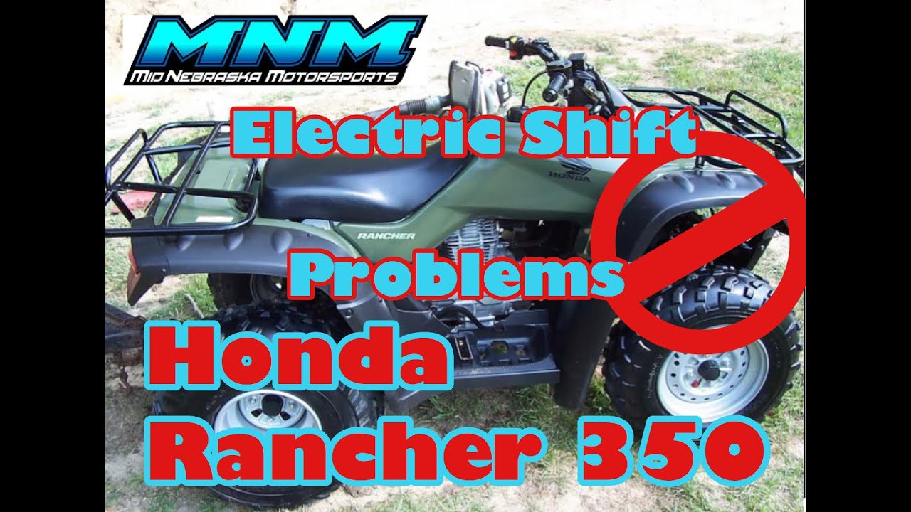 hight resolution of complete honda rancher trx 350 es 4x4 engine tear down motor rebuild video 2 3