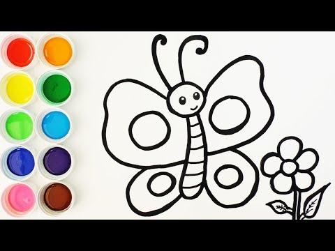 Aprender A Dibujar Mariposas Mariposas De Colores