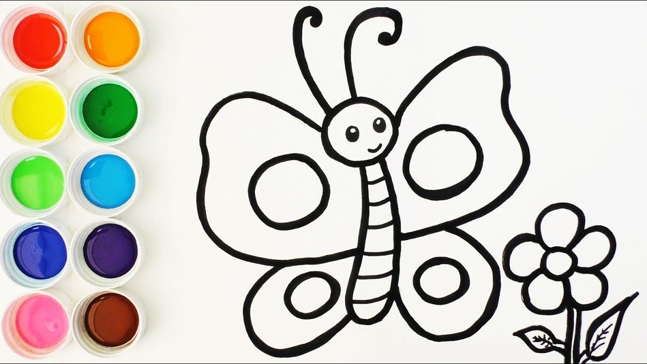 Dibujos Para Colorear Mariposas Infantiles Dibujos De