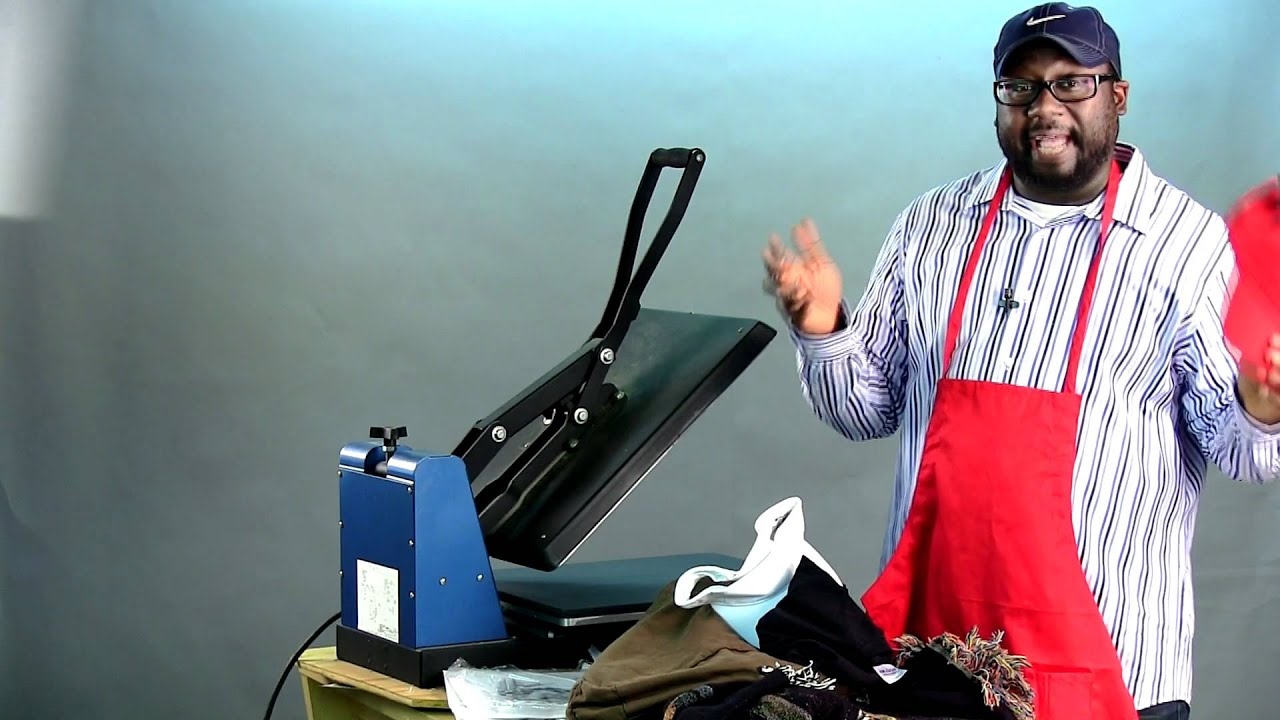 Print All Types Of Stuff With A Heat Press Machine Youtube