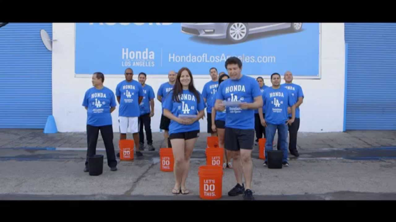 Honda Of Downtown Los Angeles ALS Ice Bucket Challenge   YouTube