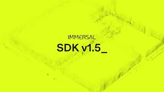 Immersal SDK v1.5 - New Features