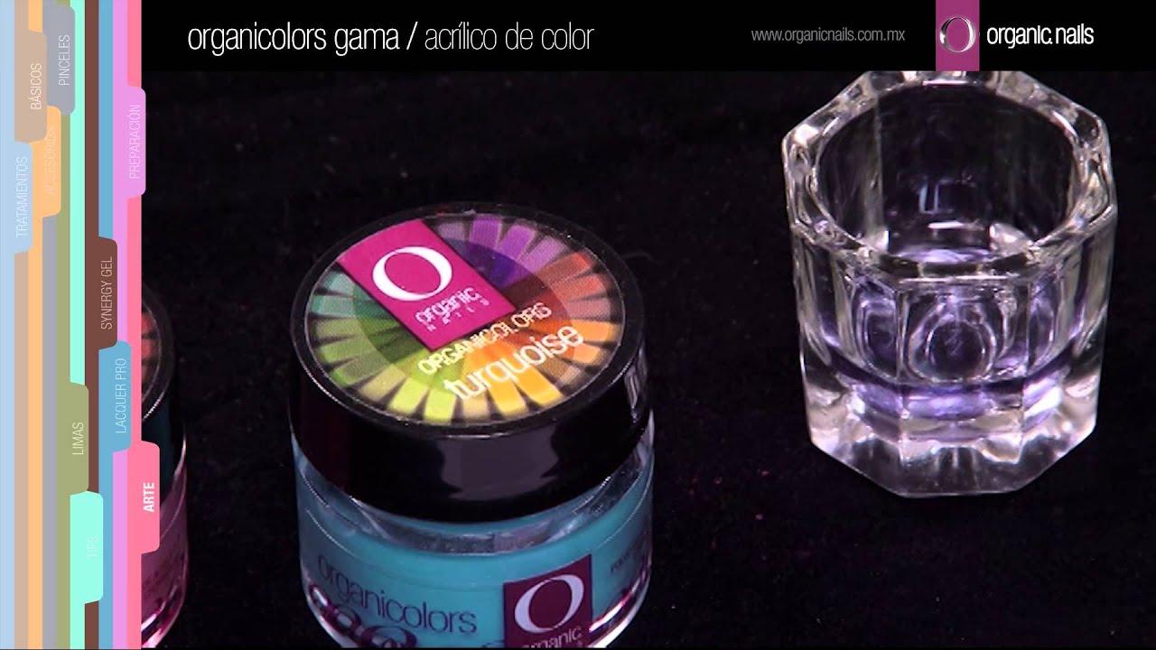 Organicolors Gama 1 / Organic Nails - YouTube