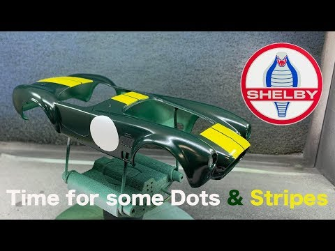 Revell: Shelby Cobra 427 S/C Part 1