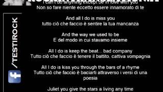 Romeo and Juliet - Dire Straits con testo originale e traduzione in italiano simultanea