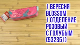 Розпакування 1 Вересня Blossom 1 відділення Рожевий з блакитним 532351