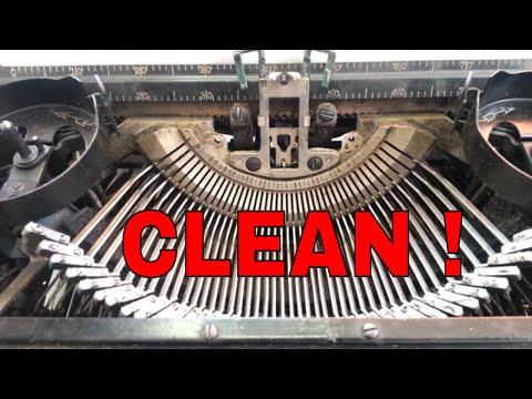 Royal Manual Typewriter Clean Type Flush Segment, Ribbon Lift & Shift Lock