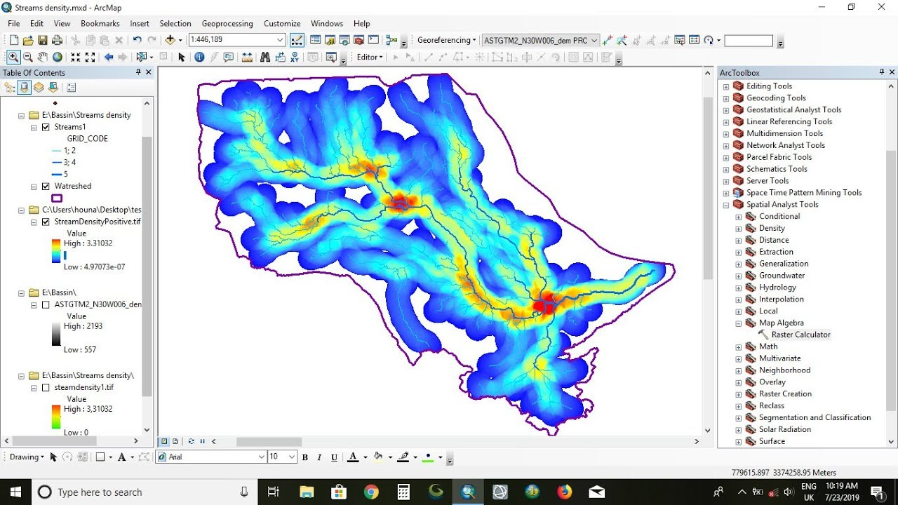 how to setnull 0 values from Ratser Dataset in ArcGIS