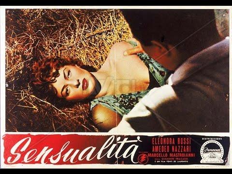 Marcello Mastroianni in Sensualità - 1951 di Clemente Fracassi