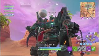 Pretending to be toxic bots in fortnite :)