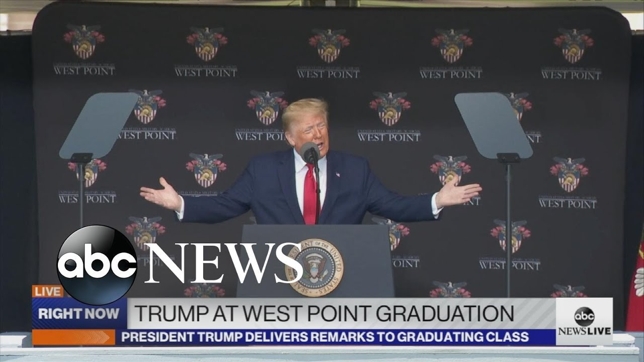 President Trump delivers West Point commencement speech thumbnail