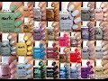 Avon Mark Nail Enamels 38 Swatches mp3