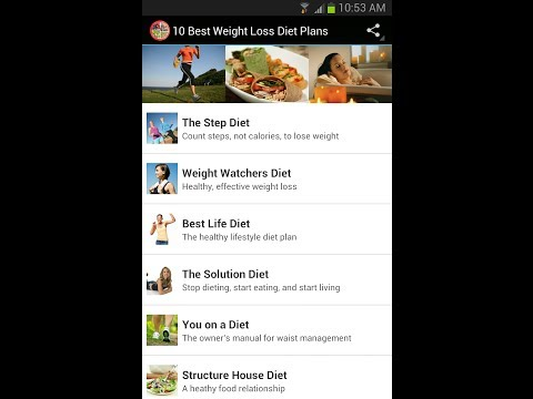 10 Best Weight Loss Diet Plans Mobile App for Android Devices