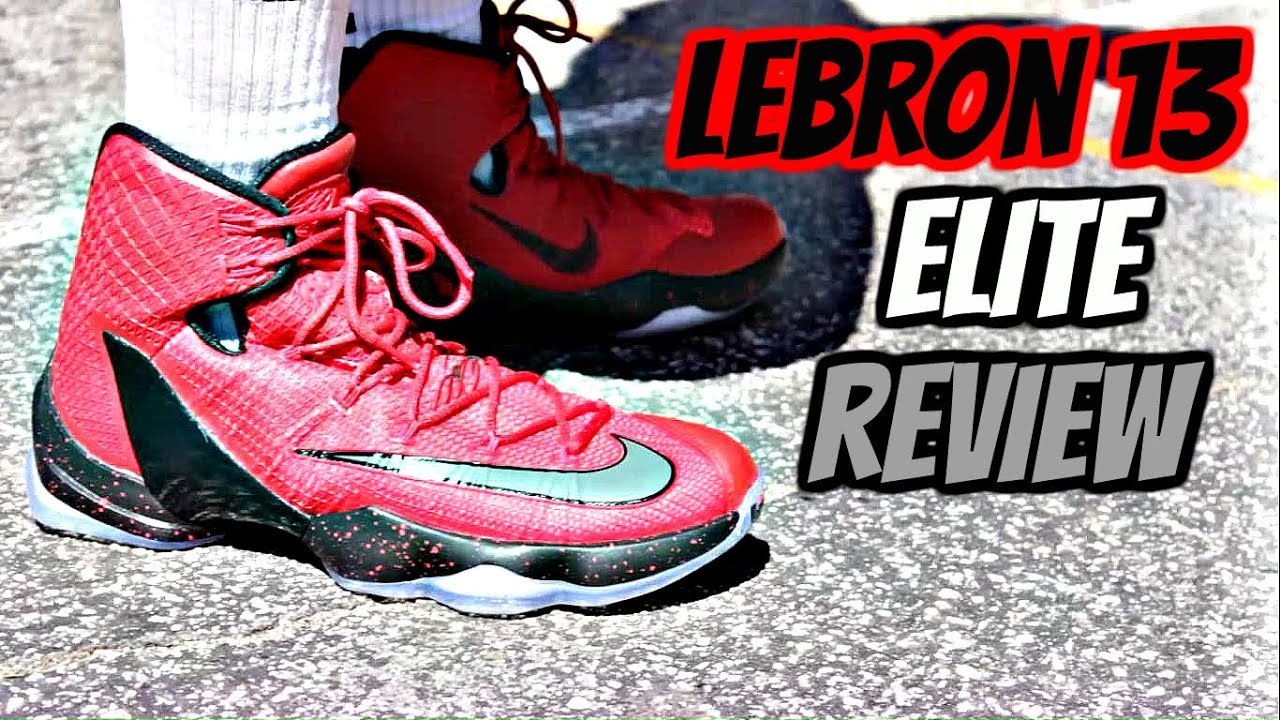 cheap for discount 1bdff 1f380 ... usa nike lebron 13 elite performance review youtube 4b87d a9e61