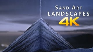 Sand Art Landscapes 4K  | Shanks FX  | PBS Digital Studios