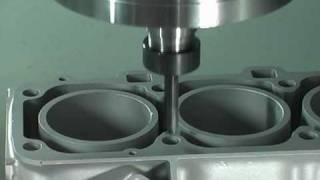 """CNC-Fräsen Quaser UX600 5-Achs """"V8-Motor"""""""