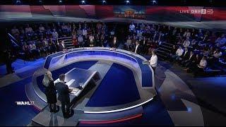 ORF-Elefantenrunde - Runde der Spitzenkandidaten - 12.10.2017