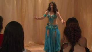 Aziza Belly Dance Drum Solo