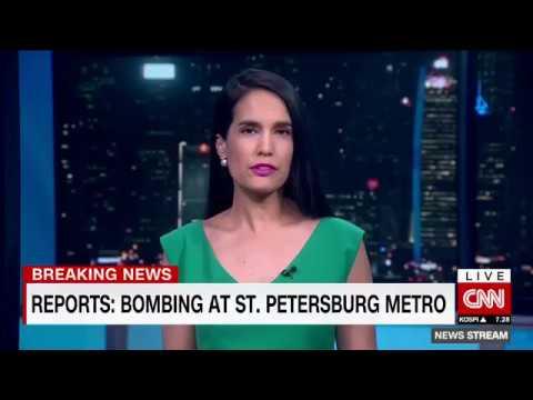 BREAKING NEWS! Explosion on metro in Russia's St Petersburg