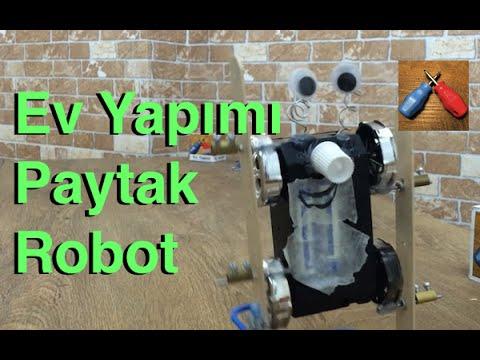 Ev Yapımı Robot , Kendin Yap , Homemade Robot , Diy