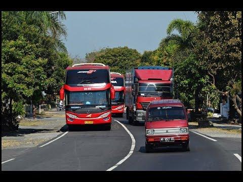 Gerombolan Bus Yang Telat Berangkat Dan Berani Nyalip | Lingkar Boyolali