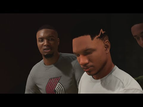 NBA 2K18 My Career - Lillard in the Studio! Embiid Process! PS4 Pro 4K Gameplay