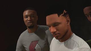 NBA 2K18 My Career - Lillard in the Studio! Embiid Process! PS4 Pro 4K Gameplay