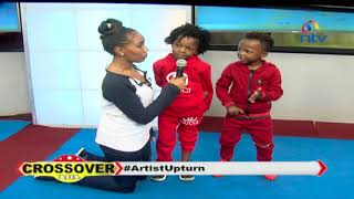 Hanging out with the youngest Gospel artist in Kenya - Crossover101