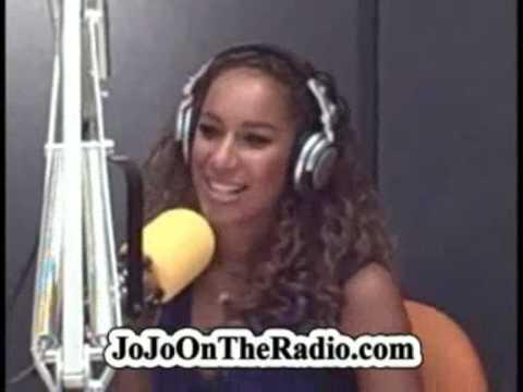 Leona Lewis funny interview at KIIS-FM with JoJo