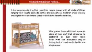 Wooden Futon Bunk Bed