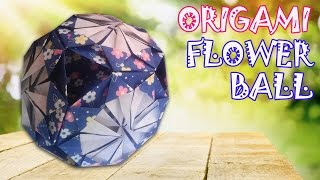 Origami Easy - Origami Flower Ball - Kusudama Ball