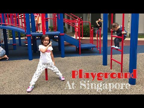 Fun Outdoor Playground at Singapore | Zara Belajar Kenalan dengan Anak Singapore