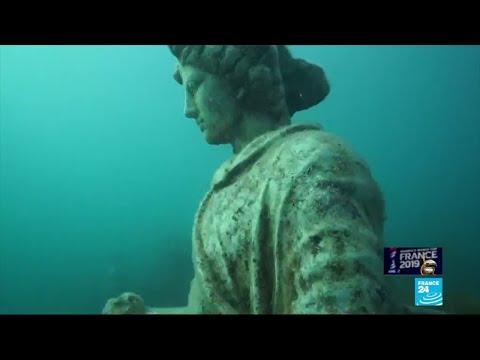 Discover the sunken Roman city of Baiae, near Naples