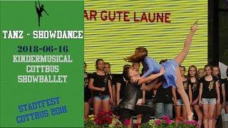 Cottbuser Kindermusical - Eröffnung Stadtfest 2018