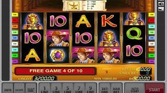 Book Of Ra Slot Machine - Free Spin Bonus And Big Win