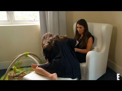 Kim Kardashian Uses Sister Kourtney's Breast Milk on Her Psoriasis 1