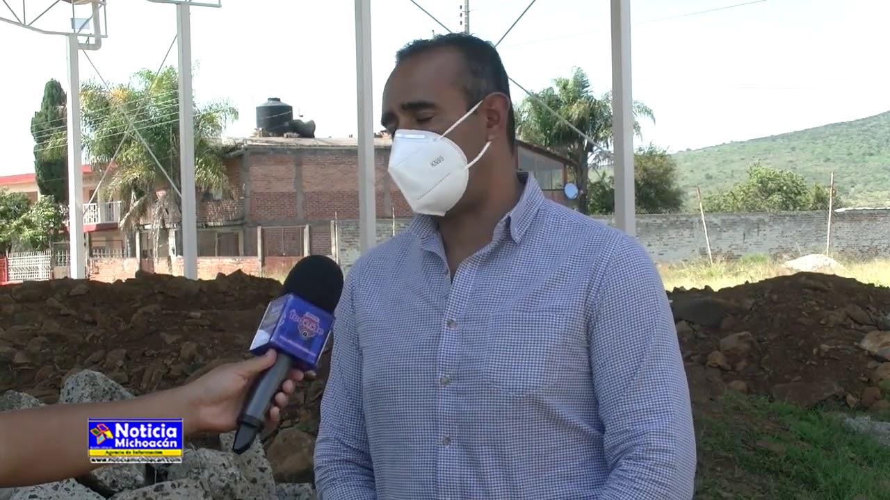 Cuauhtémoc Vega agradece apoyo del Gobierno del Estado en beneficio de Purépero